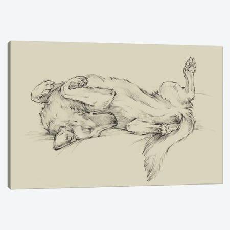 Dog Tired I Canvas Print #EHA827} by Ethan Harper Canvas Art Print