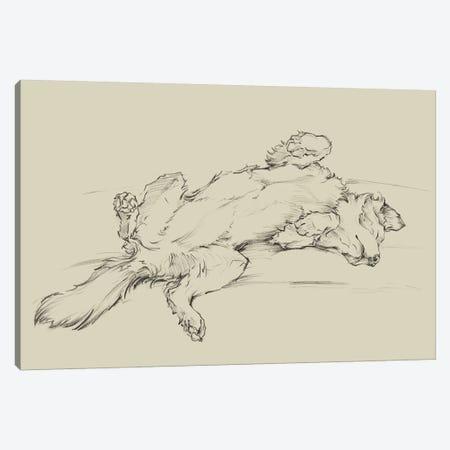 Dog Tired III Canvas Print #EHA829} by Ethan Harper Canvas Artwork