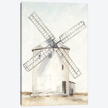 European Windmill I Canvas Print #EHA835} by Ethan Harper Canvas Art