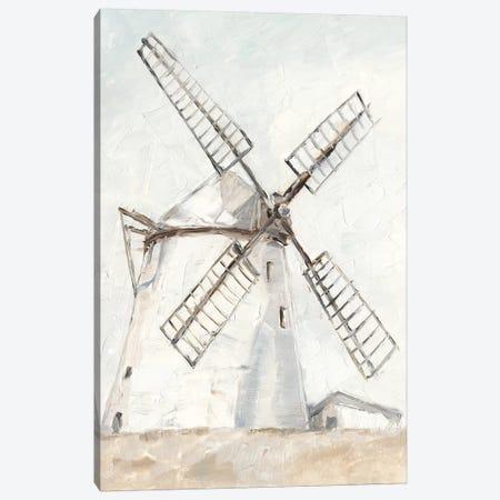 European Windmill II Canvas Print #EHA836} by Ethan Harper Canvas Artwork