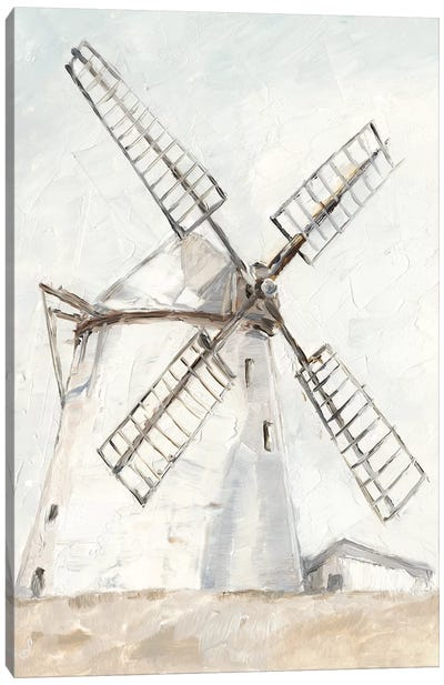 European Windmill II Canvas Art Print