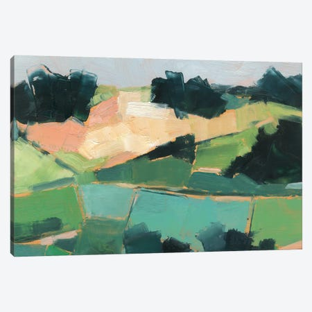 Rolling Fields II Canvas Print #EHA844} by Ethan Harper Art Print