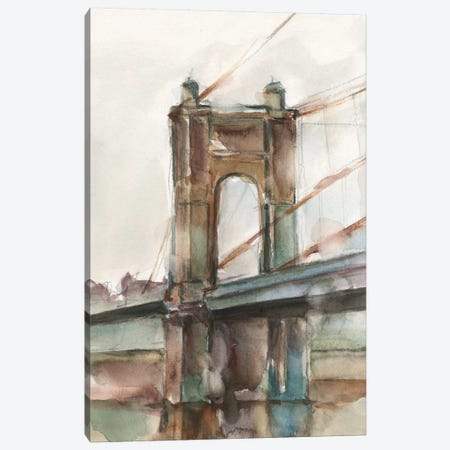 Bridge at Sunset I Canvas Print #EHA852} by Ethan Harper Art Print
