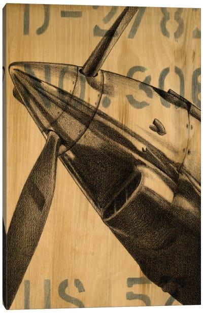 Transcontinental II Canvas Art Print