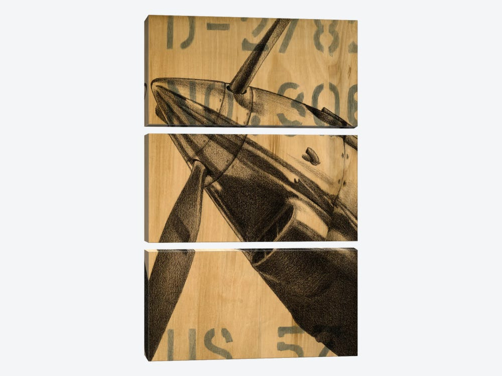 Transcontinental II by Ethan Harper 3-piece Art Print