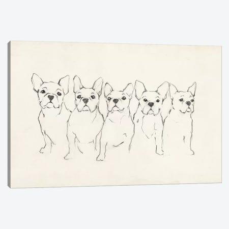 Snuggle Squad I Canvas Print #EHA861} by Ethan Harper Canvas Art