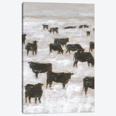 Winter Grazing II Canvas Print #EHA865} by Ethan Harper Canvas Print
