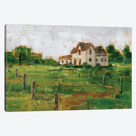 Countryside Home I Canvas Print #EHA878} by Ethan Harper Canvas Print
