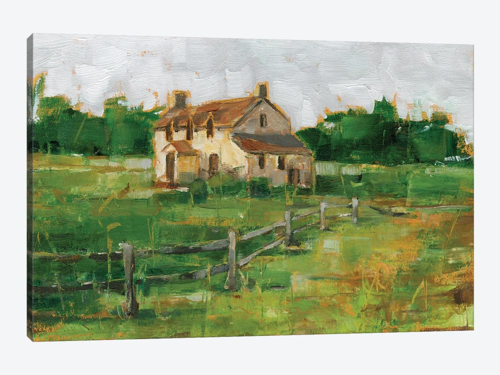 Countryside Home II by Ethan Harper 1-piece Canvas Art
