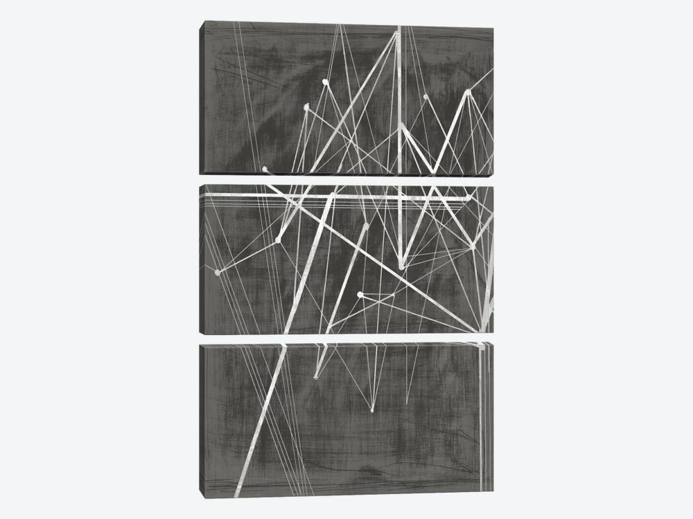 Vertices II 3-piece Canvas Print