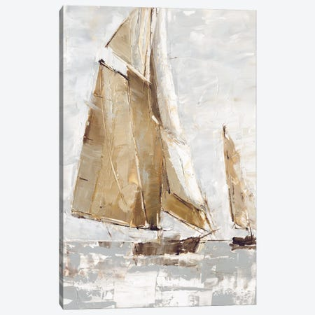 Golden Sails I 3-Piece Canvas #EHA883} by Ethan Harper Canvas Artwork