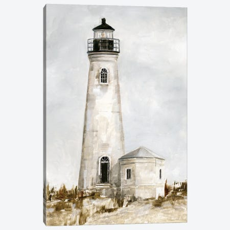Rustic Lighthouse I Canvas Print #EHA892} by Ethan Harper Canvas Art Print