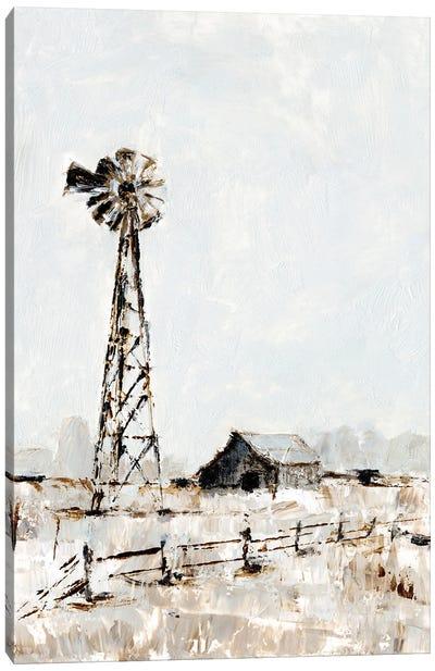 Rustic Prairie I Canvas Art Print