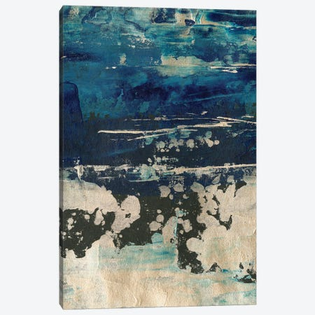 Silver Surf I Canvas Print #EHA896} by Ethan Harper Canvas Wall Art