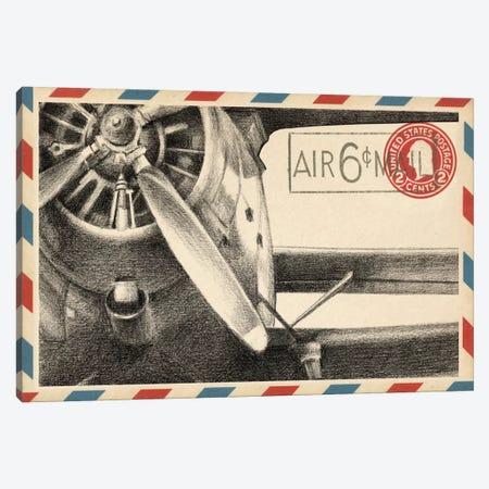Vintage Airmail II Canvas Print #EHA89} by Ethan Harper Art Print