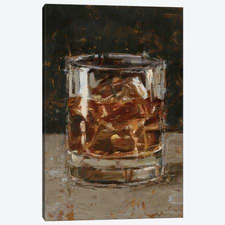 The Hard Stuff I Canvas Print #EHA907} by Ethan Harper Canvas Art