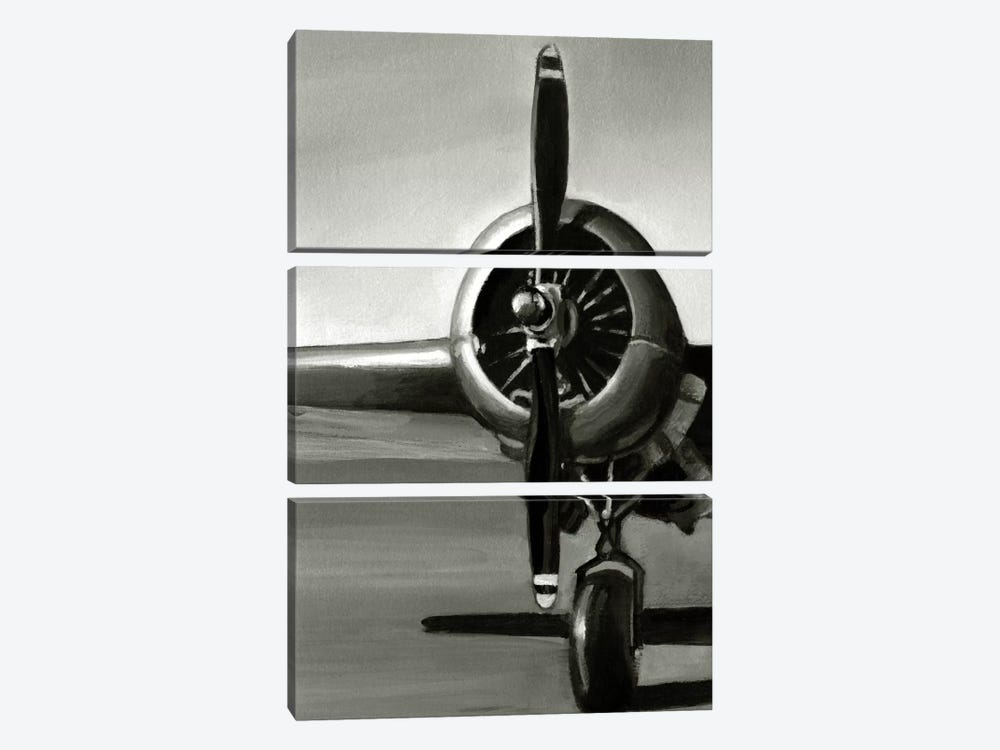 Vintage Flight Triptych Panel I by Ethan Harper 3-piece Canvas Art Print