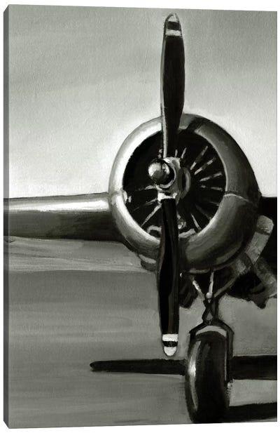 Vintage Flight Triptych Panel I Canvas Art Print