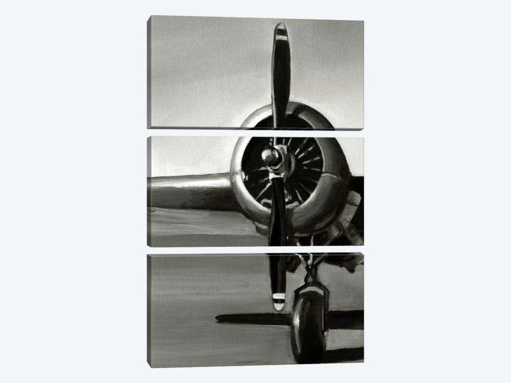 Vintage Flight Triptych Panel I by Ethan Harper 3-piece Canvas Art Print