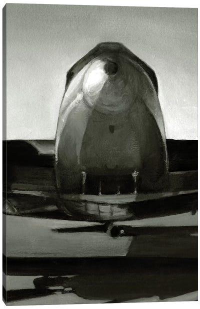 Vintage Flight Triptych Panel II Canvas Print #EHA91
