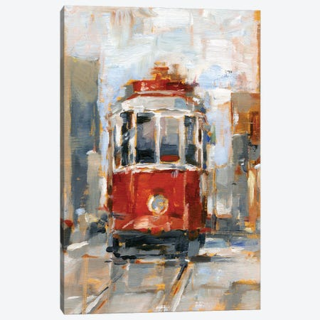 Day Trolley I Canvas Print #EHA927} by Ethan Harper Canvas Wall Art