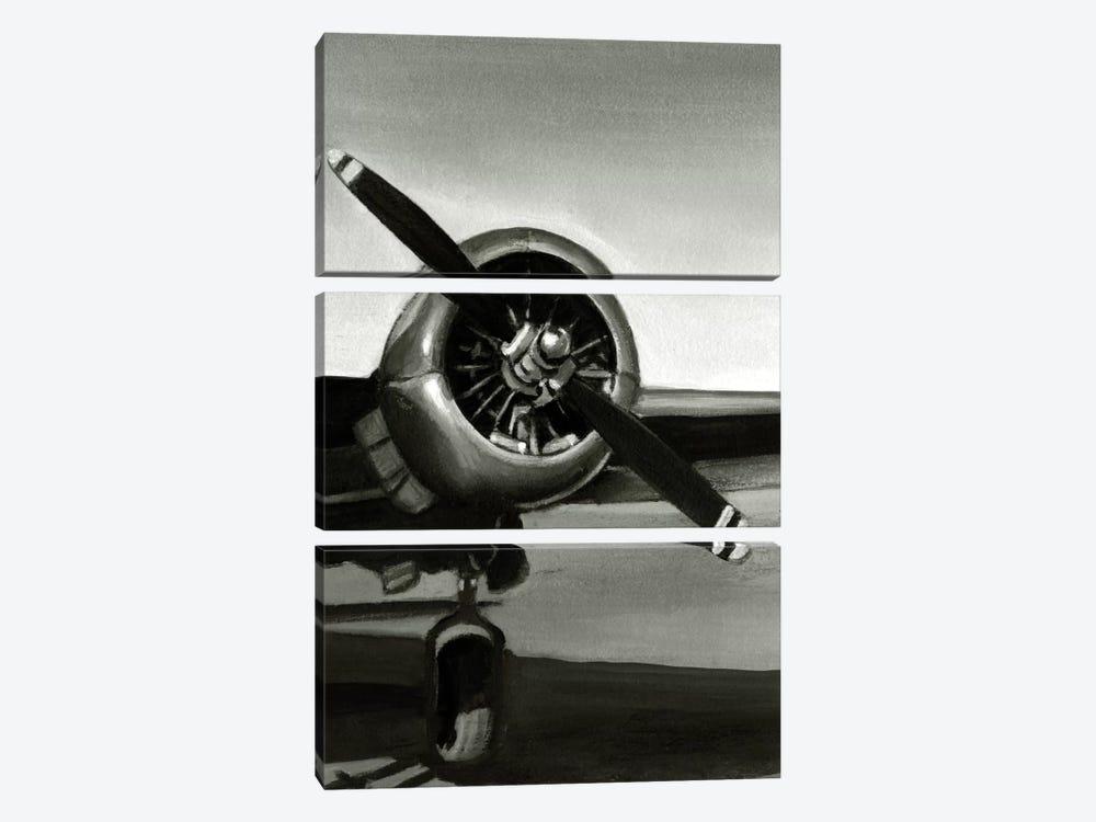 Vintage Flight Triptych Panel III by Ethan Harper 3-piece Art Print