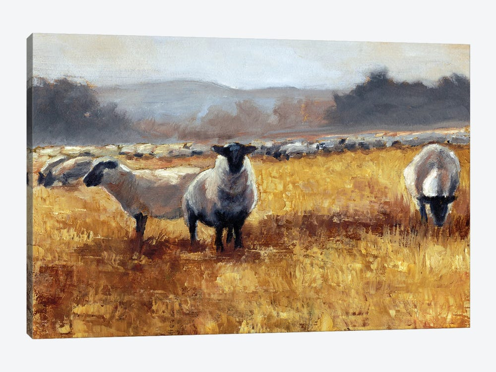 Grazing at Sunset I by Ethan Harper 1-piece Art Print