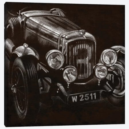 Vintage Grand Prix I Canvas Print #EHA93} by Ethan Harper Canvas Wall Art