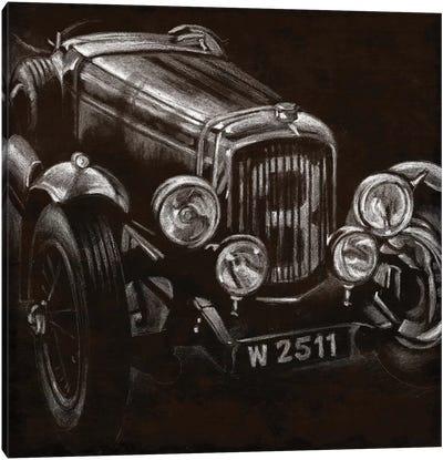 Vintage Grand Prix I Canvas Print #EHA93