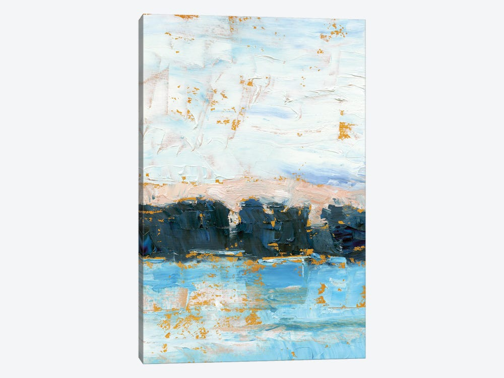 Indigo Treeline II by Ethan Harper 1-piece Canvas Art Print