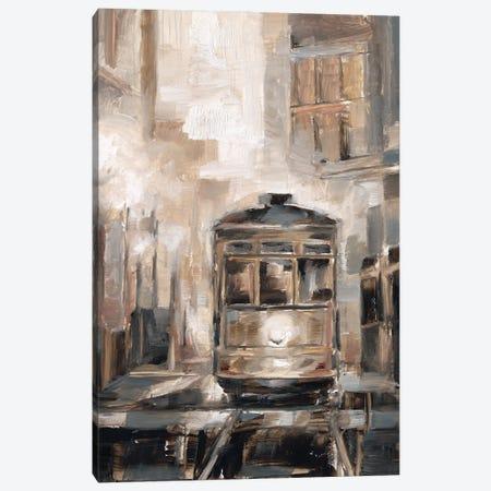 Night Trolley I Canvas Print #EHA941} by Ethan Harper Canvas Art Print