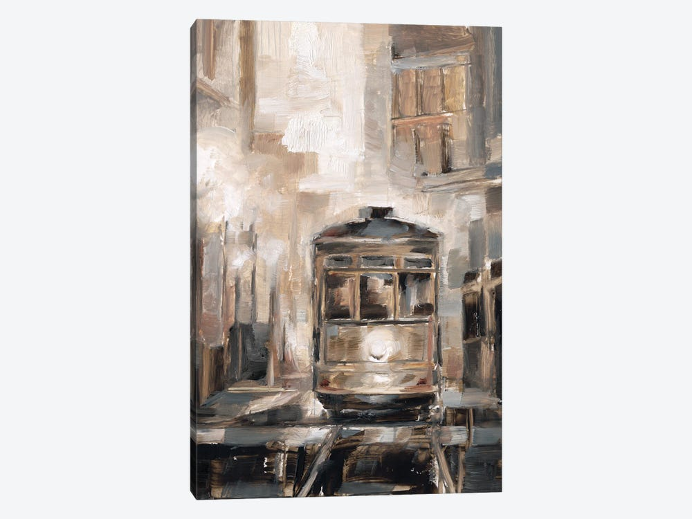 Night Trolley I 1-piece Canvas Wall Art