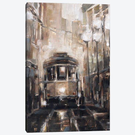 Night Trolley II Canvas Print #EHA942} by Ethan Harper Canvas Art Print