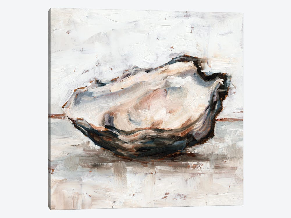 Oyster Study I by Ethan Harper 1-piece Canvas Artwork