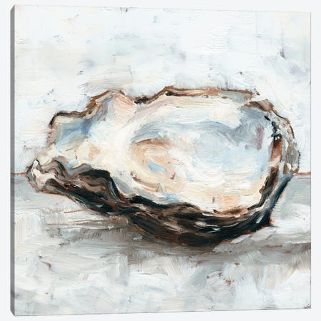 Oyster Study II Canvas Print #EHA944} by Ethan Harper Canvas Artwork