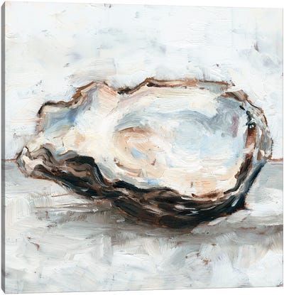Oyster Study II Canvas Art Print