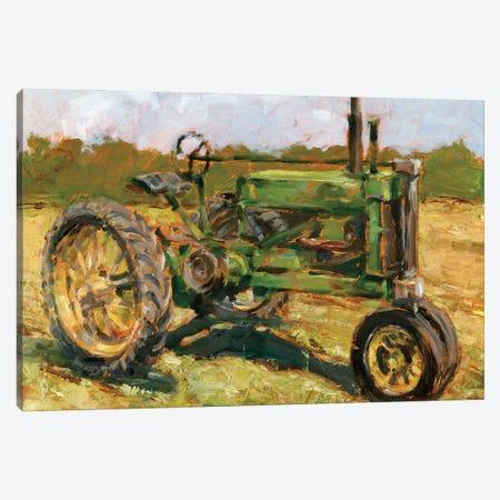 Rustic Tractors I Canvas Print #EHA947} by Ethan Harper Canvas Art