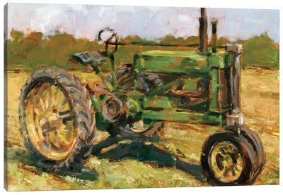 Rustic Tractors I Canvas Art Print