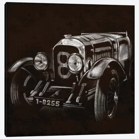 Vintage Grand Prix II Canvas Print #EHA94} by Ethan Harper Canvas Print