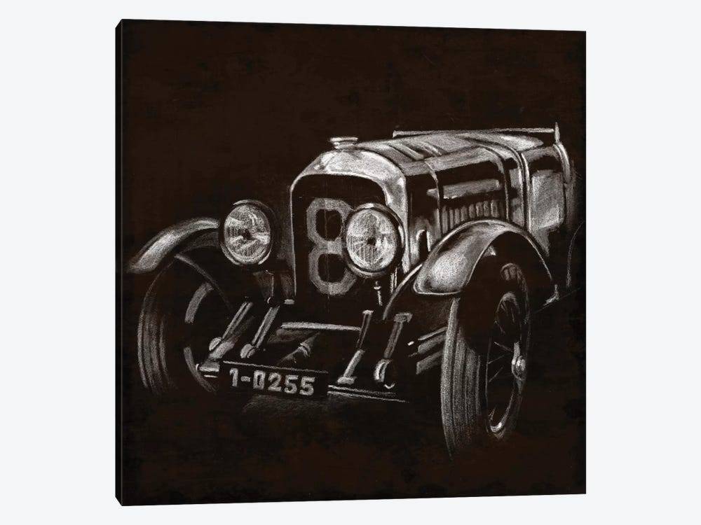 Vintage Grand Prix II by Ethan Harper 1-piece Canvas Art Print