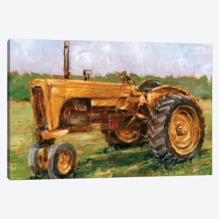 Rustic Tractors IV Canvas Print #EHA950} by Ethan Harper Canvas Artwork