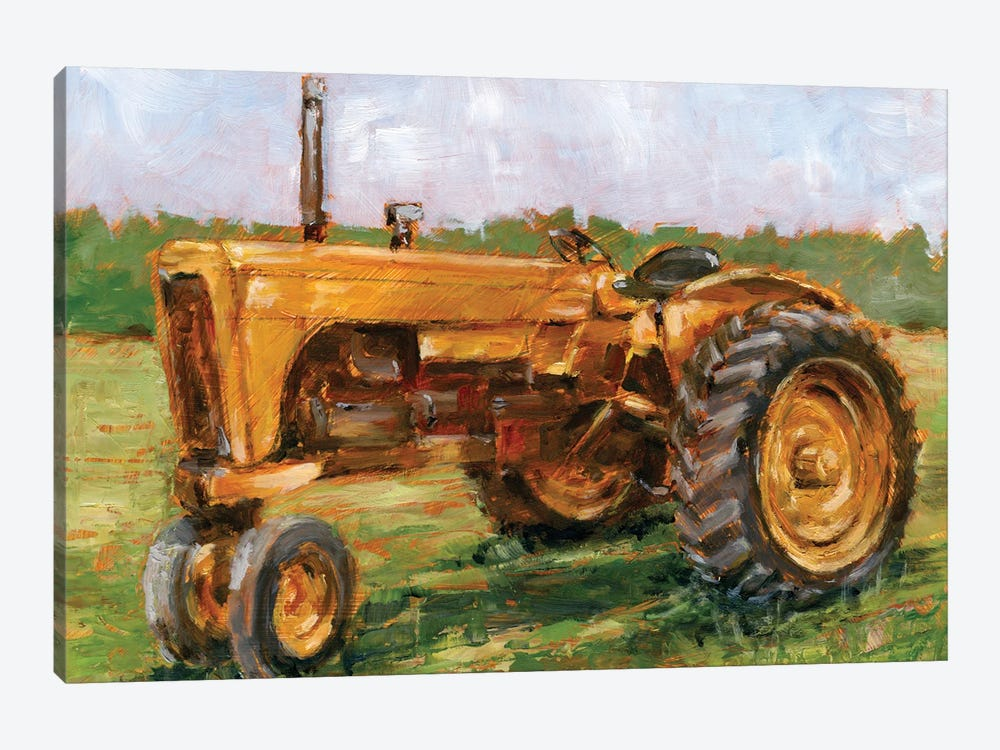 Rustic Tractors IV by Ethan Harper 1-piece Canvas Wall Art
