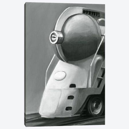 Vintage Locomotive I 3-Piece Canvas #EHA95} by Ethan Harper Canvas Print