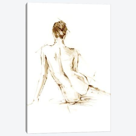 Drybrush Figure Study II Canvas Print #EHA967} by Ethan Harper Canvas Wall Art