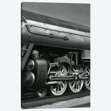 Vintage Locomotive II Canvas Print #EHA96} by Ethan Harper Art Print