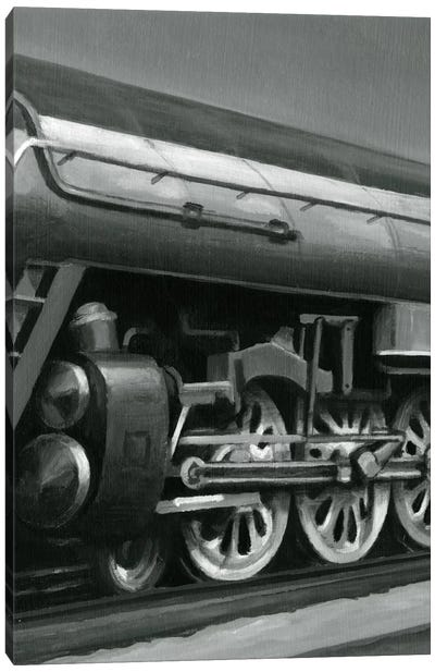 Vintage Locomotive II Canvas Art Print
