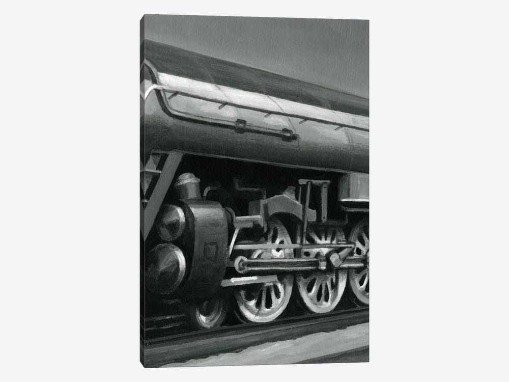 Vintage Locomotive II by Ethan Harper 1-piece Canvas Art Print