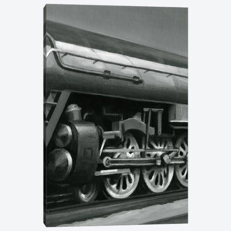Vintage Locomotive II 3-Piece Canvas #EHA96} by Ethan Harper Art Print