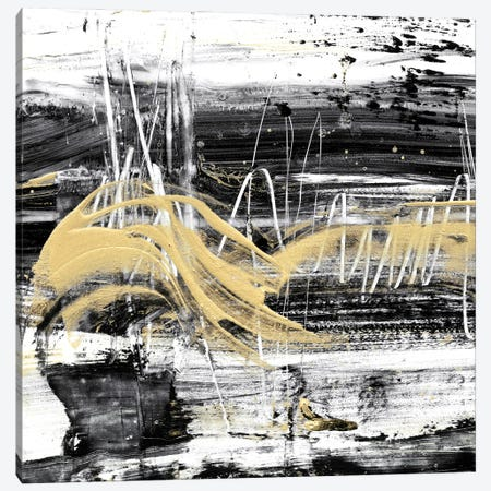 Gold Wave I Canvas Print #EHA972} by Ethan Harper Canvas Wall Art