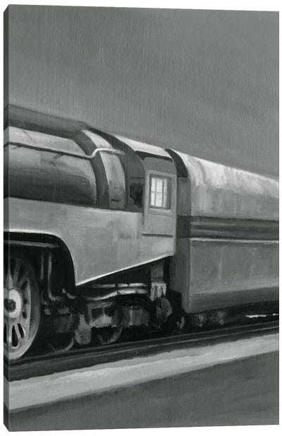 Vintage Locomotive III Canvas Art Print